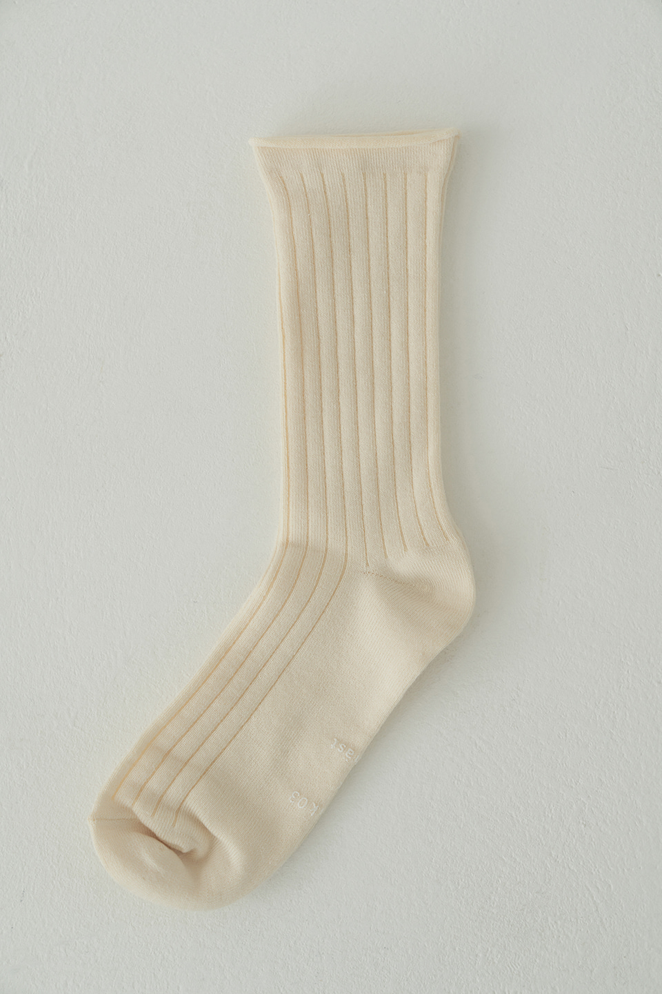 cotton rib socks (3colors)